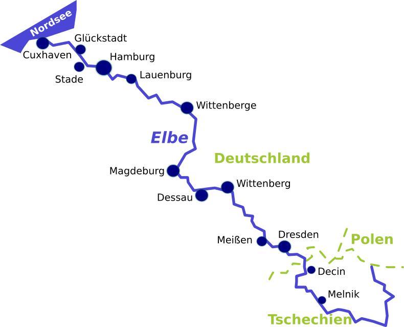 Den Elberadweg Erleben