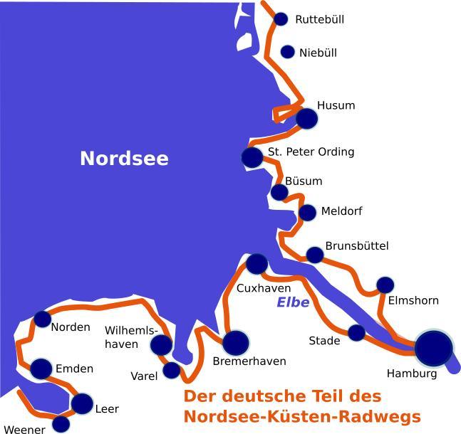 Nordsee Mit Dem Rad Erleben