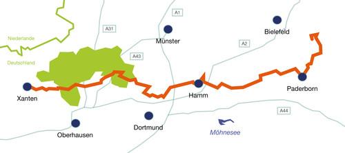 Reisetipp Romer Lippe Route